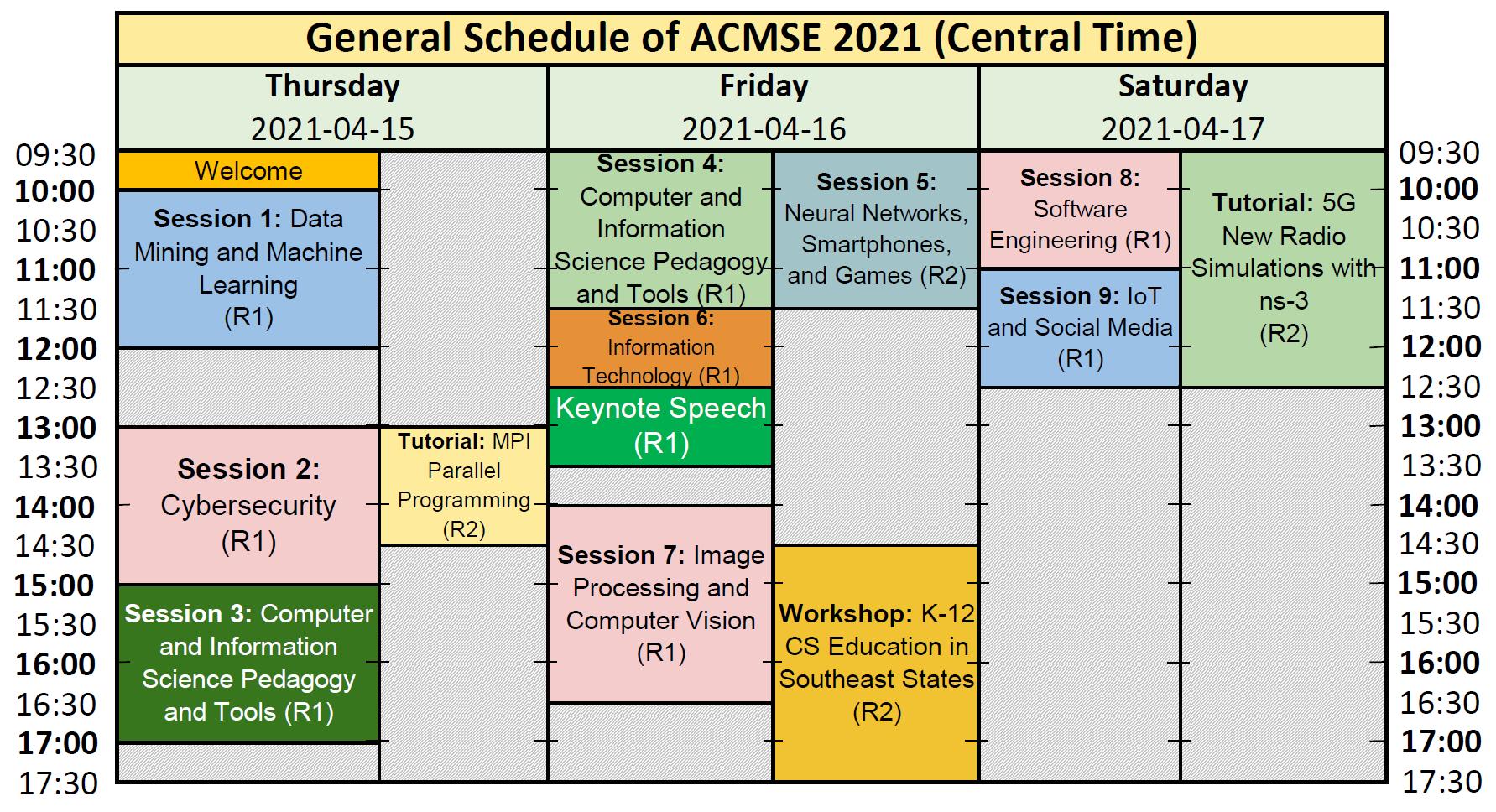 General Schedule